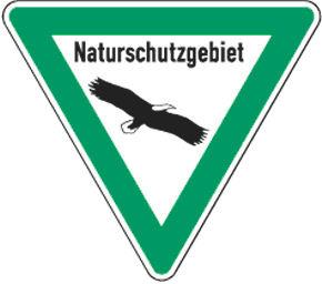 Naturschutzzeichen